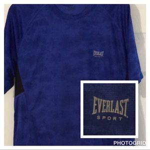 Men's medium Everlast Sport blue shirt